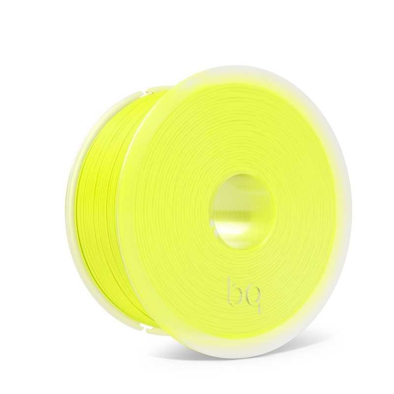 bq PLA 1.75mm Fluorescent Yellow 1Kg Compatible with any 3D printer that takes 1.75mm filament. Smal