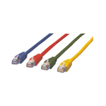 MCL Cable RJ45 Cat5E 10.0 m Red cable de red 10 m Rojo