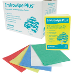 Envirowipe Plus Heavy-Duty Cleaning Cloths (50x36) Yllw PK25