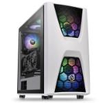 Thermaltake Commander C34 TG Snow ARGB Edition Midi-Tower Black,White