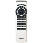 Cisco TRC5 IR Wireless press buttons White remote control