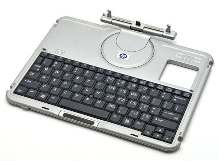 HP 348325-031 Black,Silver mobile device keyboard