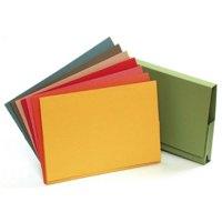 Guildhall 356x254mm Legal Wallet Full Flap Grey PK50