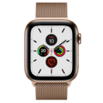 Apple Watch Series 5 OLED 44 mm Gold 4G GPS (satellite)