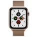 Apple Watch Series 5 smartwatch OLED Gold 4G GPS (satellite)