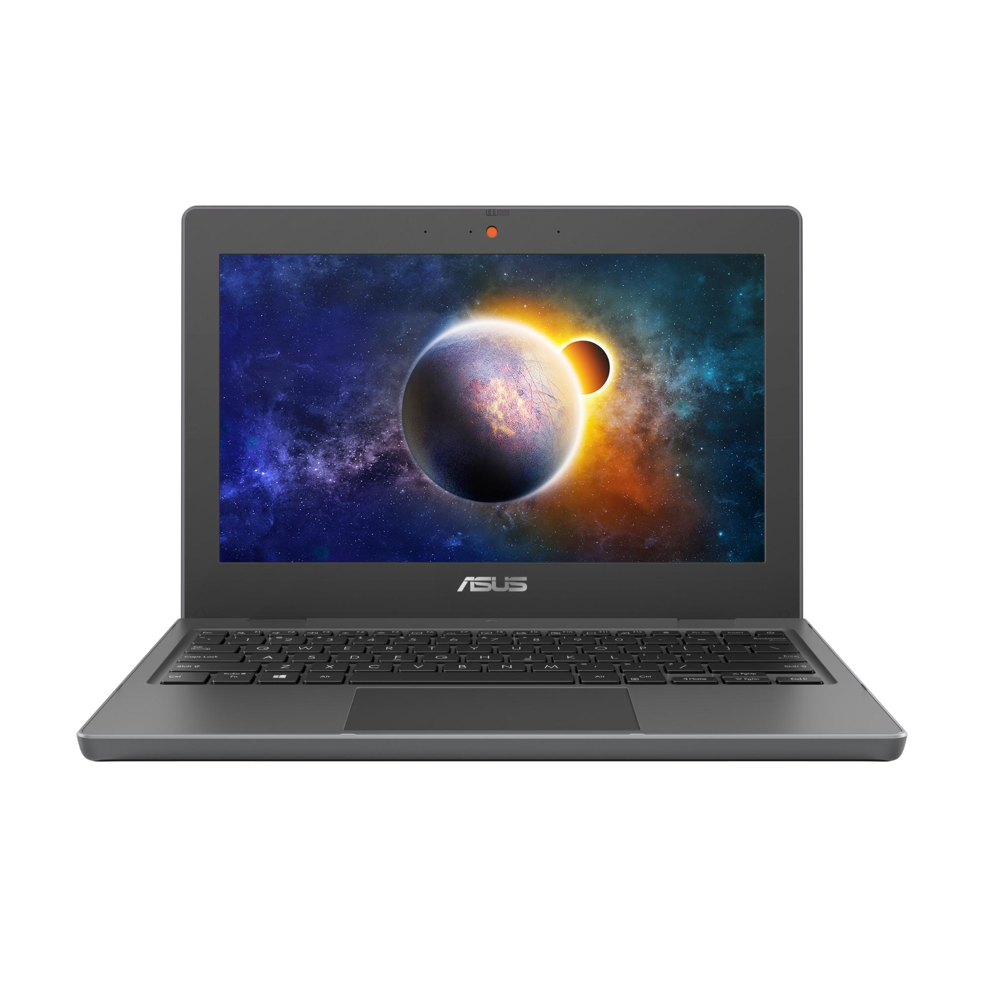 """ASUS BR1100CKA-GJ0289RA-3Y DDR4-SDRAM Notebook 29.5 cm (11.6"""") 1366 x 768 pixels Intel® Celeron® N 4 GB 64 GB eMMC Wi-Fi 6 (802.11ax) Windows 10 Pro Grey"""