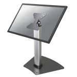 "Newstar FPMA-D1500SILVER flat panel floorstand 81.3 cm (32"") Fixed flat panel floor stand Silver"
