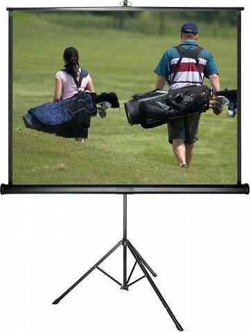 Sapphire - Tripod - 125cm x 125cm - 1:1 Tripod Projector Screen