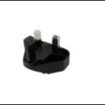 Zebra CN-000803-06 Type G (UK) Black power plug adapter