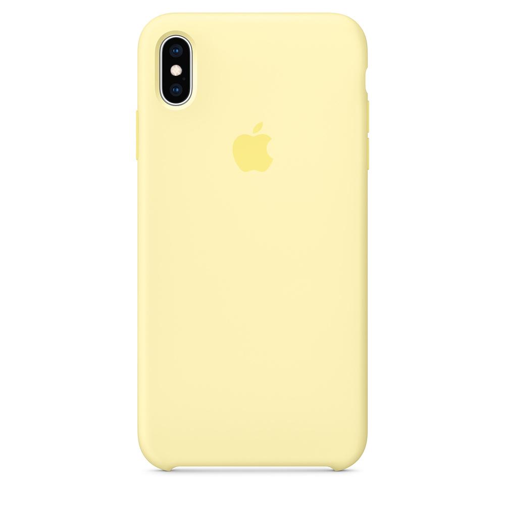 Apple MUJR2ZM/A funda para teléfono móvil Amarillo