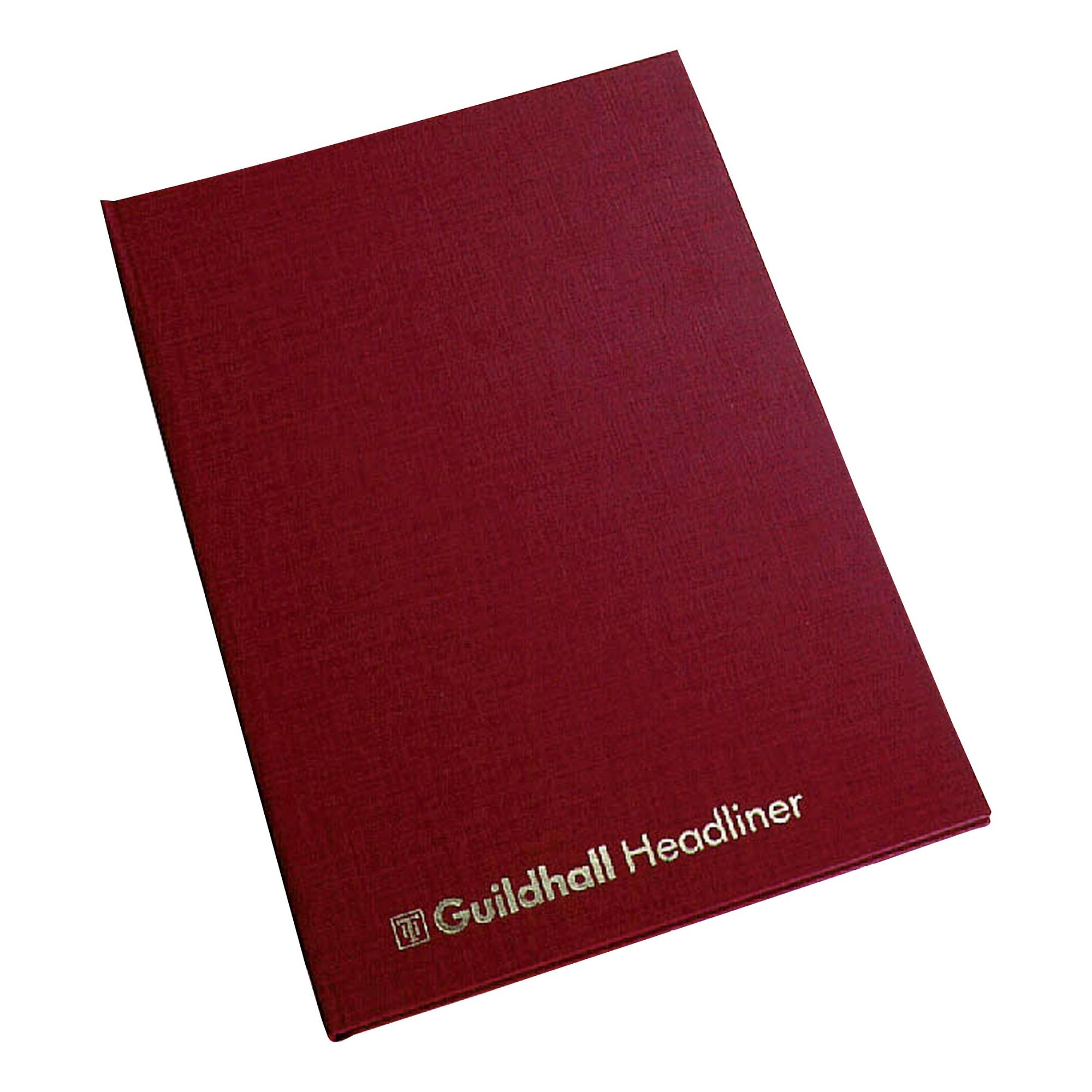 Guildhall 38/6Z Headliner Book 1147