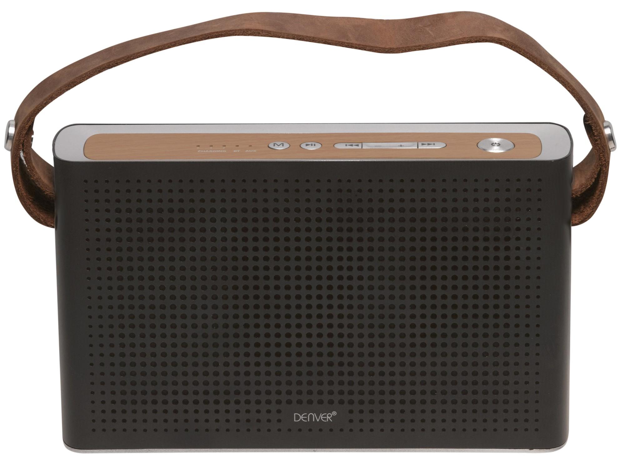 Denver Electronics BTS-200 MK2 10W Black, Silver