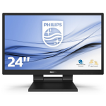 "Philips 242B9T/00 touch screen-monitor 60,5 cm (23.8"") 1920 x 1080 Pixels Zwart Multi-touch Tafelblad"