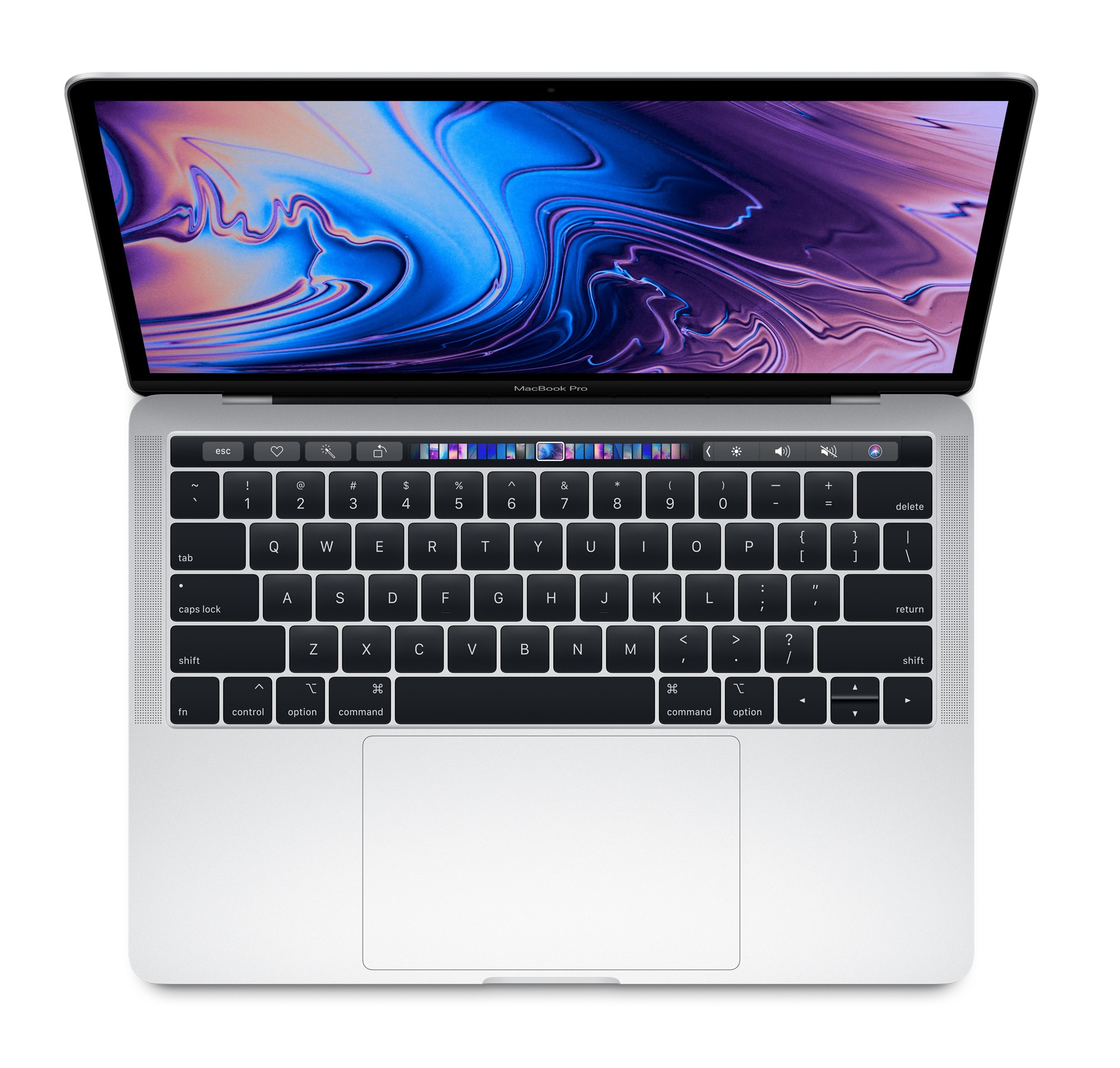 MacBook Pro - 13in - i5 2.3GHz - 8GB Ram - 512GB SSD - Touch Bar And Touch Id -intel Iris Plus Graphics 655 - Silver - Qwerty Uk