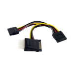 StarTech.com SATA to LP4 with 2x SATA Power Splitter Cable PYOLP42SATA