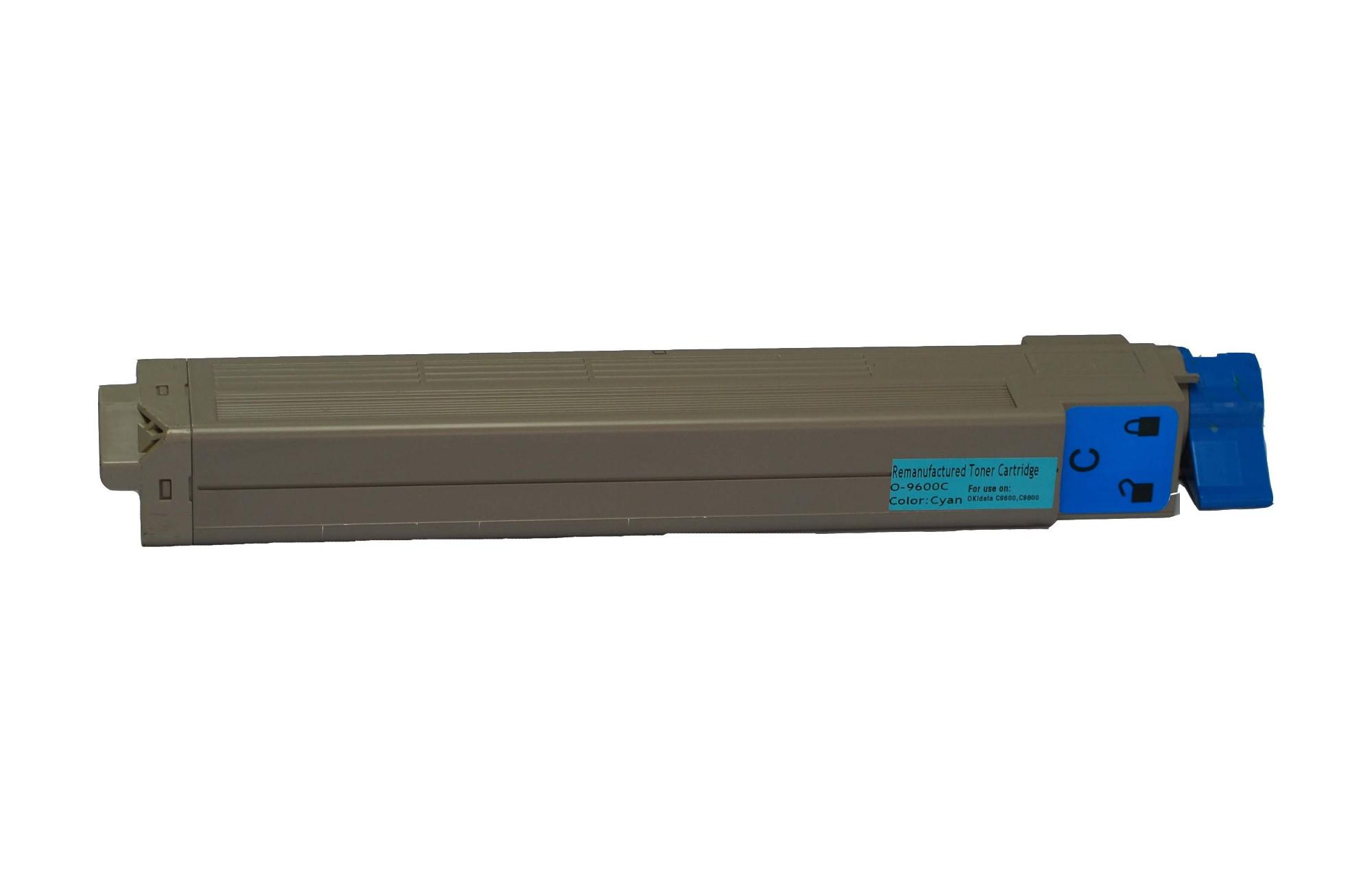 Remanufactured OKI 42918915 Cyan Toner Cartridge