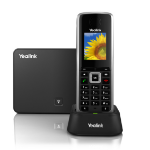 Yealink W52P IP phone Black Wireless handset LCD