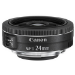 Canon EF-S 24mm f/2.8 STM Objetivo ancho Negro