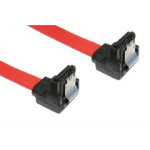 Cables Direct NLRB-303LOCK SATA cable 0.45 m SATA 7-pin Red