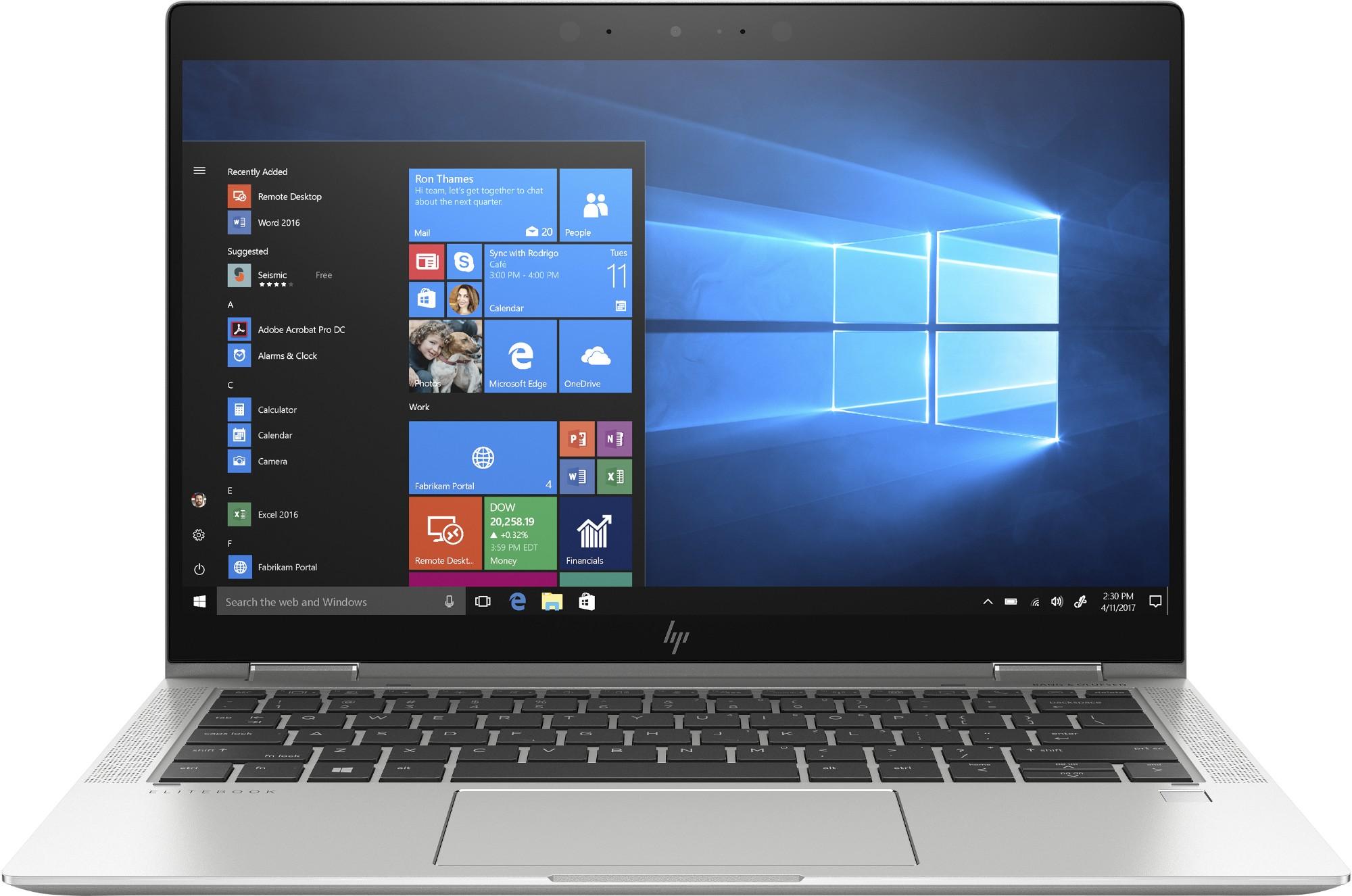 "HP EliteBook x360 1030 G4 Híbrido (2-en-1) Plata 33,8 cm (13.3"") 1920 x 1080 Pixeles Pantalla táctil 8ª generación de procesadores Intel® Core™ i7 16 GB LPDDR3-SDRAM 1000 GB SSD Wi-Fi 6 (802.11ax) Windows 10 Pro"
