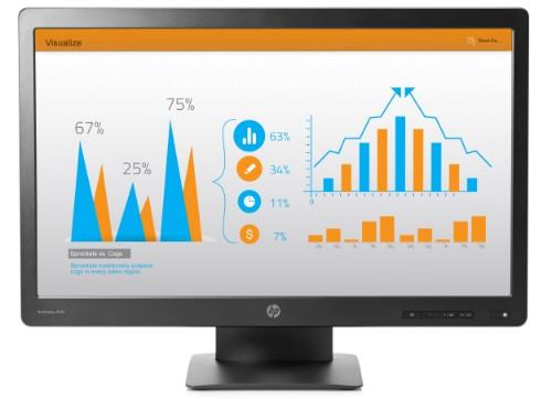 """HP ProDisplay P232 LED display 58.4 cm (23"""") 1920 x 1080 pixels Full HD Matt Black"""