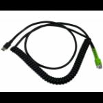 Zebra CBA-UF8-C12ZAR barcode reader accessory Charging cable