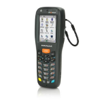 "Datalogic MEMOR X3 2.4"" 240 x 320pixels Touchscreen 233g Black handheld mobile computer"