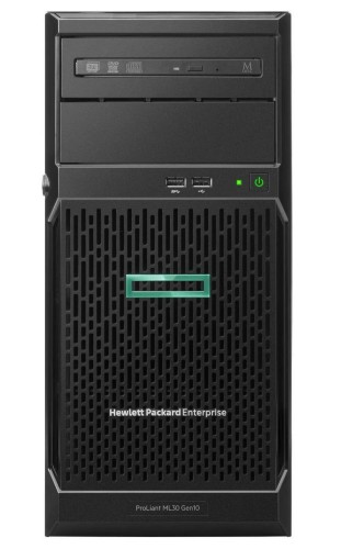 Hewlett Packard Enterprise ProLiant ML30 Gen10 server Intel Xeon E 3.6 GHz 16 GB DDR4-SDRAM 56 TB Tower (4U) 350 W