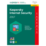Kaspersky Lab Internet Security 2017 3user(s) 1year(s)