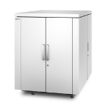 APC NetShelter CX Freestanding 24U White rack