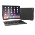 Zagg Slim Book Case with UK Keyboard for iPad Pro 12.9 - Black