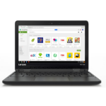 "Lenovo N23 1.6GHz N3060 11.6"" 1366 x 768pixels Black Chromebook"