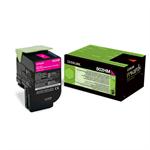Lexmark 80C2HME (802HM) Toner magenta, 3K pages