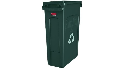 Rubbermaid FG354007GRN waste container Rectangular Green