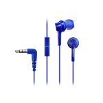 Panasonic RP-TCM105E In-ear Binaural Wired Blue mobile headset
