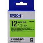 Epson C53S654018 (LK-4GBF) DirectLabel-etikettes, 12mm x 9m