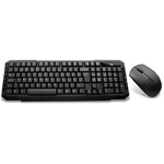 Builder Wireless Keyboard And Mouse Combo Set - Black, (KBMS-BUILDERW)