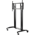 "Peerless MIS988 55"" Portable flat panel floor stand Black flat panel floorstand"