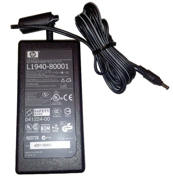 HP AC Adapter 24V 1.5A
