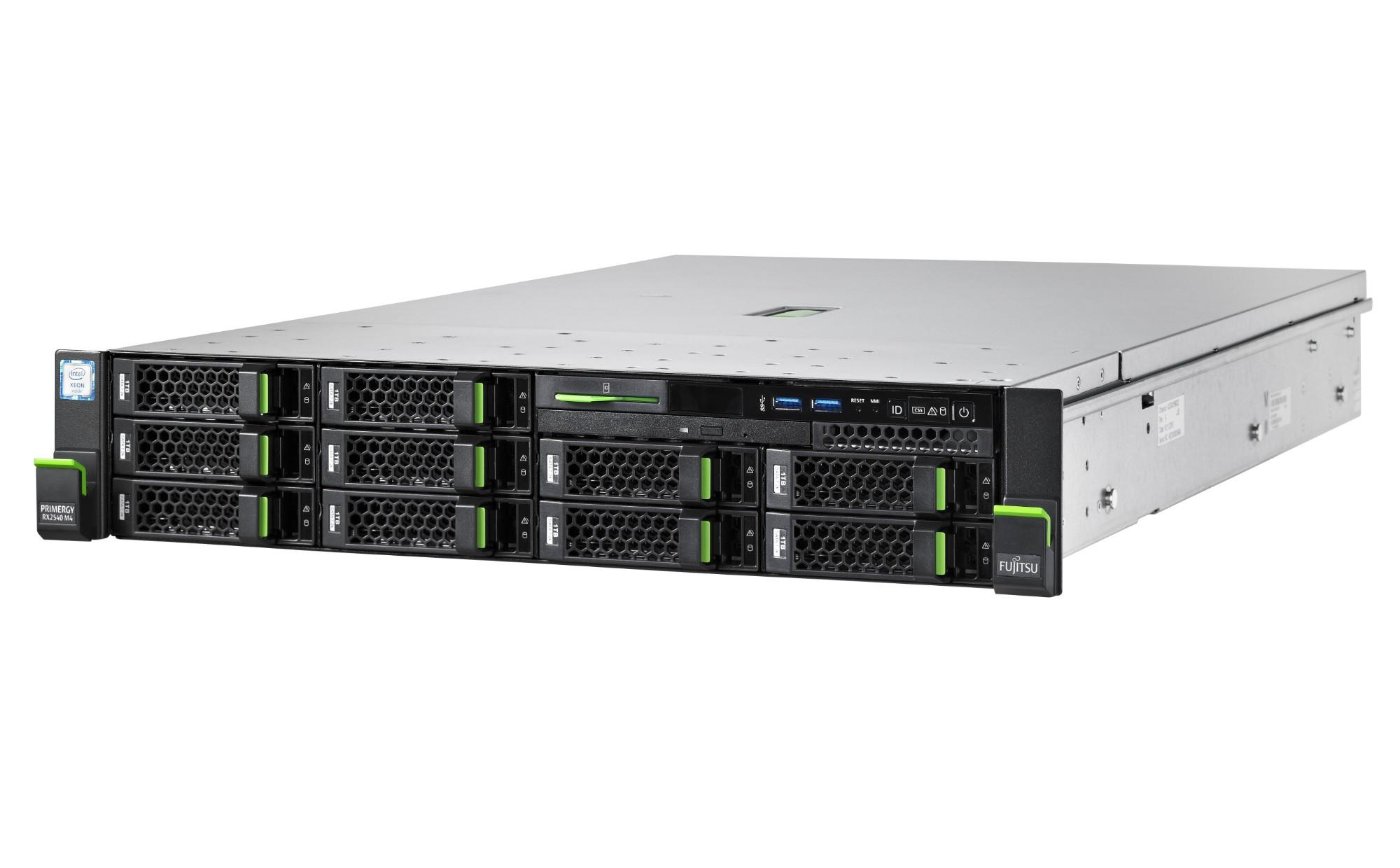 Fujitsu PRIMERGY RX2540 M4 1.8GHz 4108 450W Rack (2U) server
