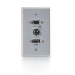 C2G 41034 outlet box Aluminium