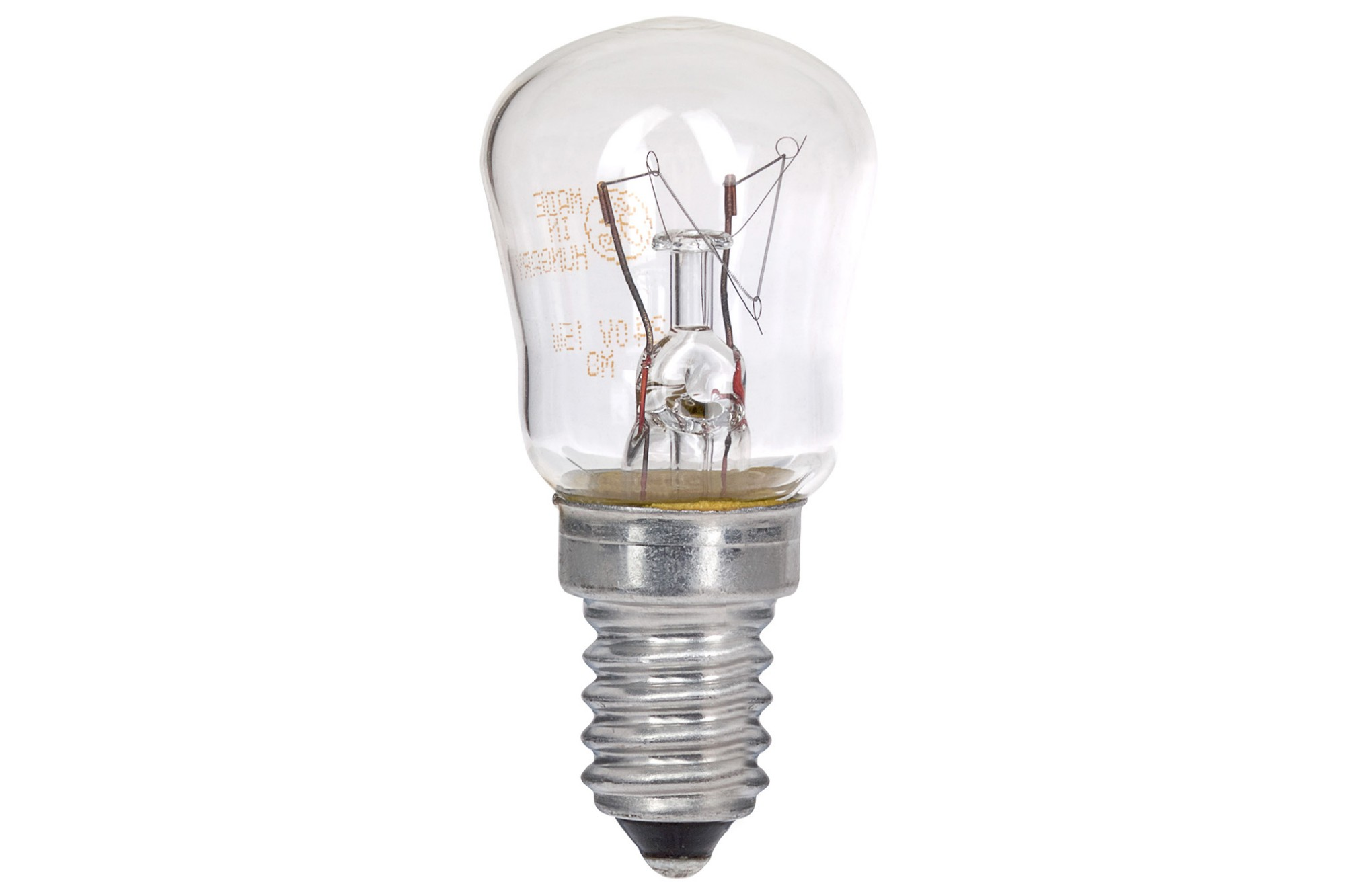 DS48 15W E14 SES Pygmy Freezer 240v Lamp Light Bulb - Clear
