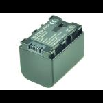 2-Power Camcorder Battery 3.6V 2670mAh