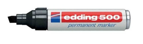 Edding 500 Black 10pc(s) permanent marker