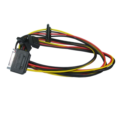 TARGET SATA Power (M) to SATA Power (F) 0.85m OEM Internal Splitter/Extension Cable