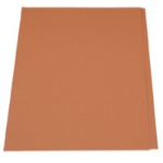 Guildhall L SQUARE CUT FOLDER 315G ORANGE