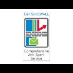 SonicWall Anti-Spam for NSA 2600, 1 Year 1 Lizenz(en)