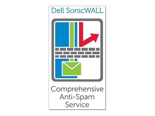 SonicWall Anti-Spam for NSA 2600, 1 Year 1 licencia(s)