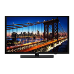 "Samsung HG32EE590FK hospitality TV 81.3 cm (32"") WXGA Black Smart TV 10 W A+"
