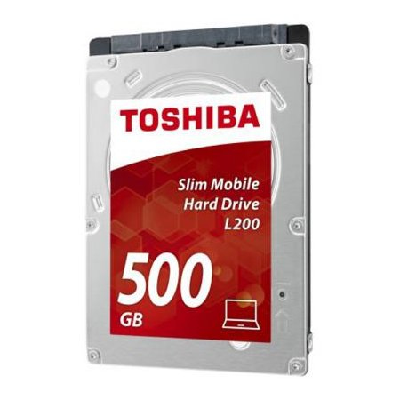 "Toshiba L200 500GB 2.5"" Serial ATA III"